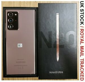 Samsung Galaxy Note20 Ultra SM-N985F/DS - 256GB Mystic Bronze Unlocked - Grade A