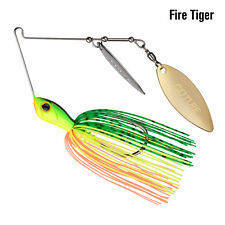 1pcs Spinnerbait Fishing Lure Blade Buzzbait Lead Head Hooks Metal Spoon Tackle