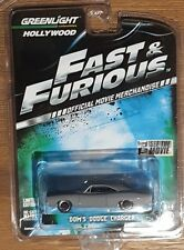 GREENLIGHT Hollywood Series 1 - FAST AND FURIOUS - Dom's Dodge Charger 1:64