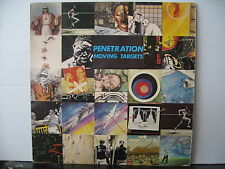 PENETRATION Moving Targets VIRGIN RECORDS BLACK VINYL LP Free UK Post