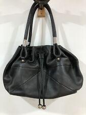OROTON Black Pebbled Leather Large Gather Tote Hobo Shoulder Bag RRP $695 *MINT!