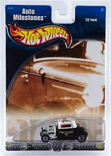 Hot Wheels Auto Milestones '32 Ford 1/64 Diecast New In Package