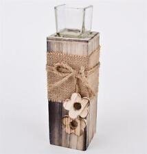 Deko-Kerzenständer & -Teelichthalter mit Säule Teelichter