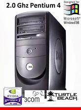 MAXXED RETRO Dell Windows 98 SE / DOS Computer Pentium 4 Win98 Win98SE