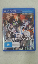 Lost Dimension Sony PS Vita Game Brand New Australian Stock