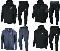 Nike Mens Fleece Tracksuit Hoodie Joggers Hoody Sweatpants Full Zip Top Bottom