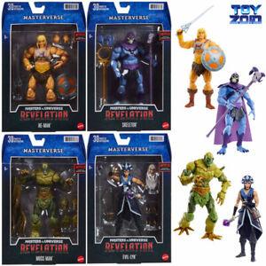 Masters of the Universe Revelation Masterverse Wave 1 He-Man Skeletor MOTU