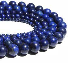 Grade A Lapis Lazuli Beads 8mm Round 47-50 Natural Gemstones Jewelry Making