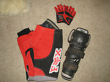 Kids Fox Riding Pants Sz.26,Gloves Sz.7and Shin Guards Adult S~SUPER COOL~