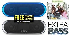 Sony SRS-XB20 Portable Water-resistant  Bluetooth Speaker Extra Bass Blue Black