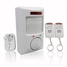 105dB Alarm Wireless IR Infrared Home Door Motion Sensor Alarm+2 Remote Control
