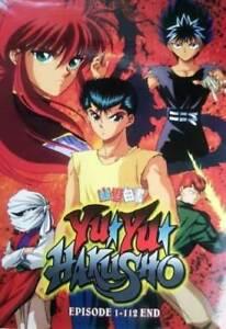 DVD Yu Yu Hakusho Episode 1-112 End Japanese Anime English Dubbed