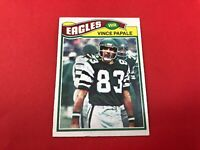 1977 Topps #397 Vince PAPALE Rookie RC Football Card Eagles