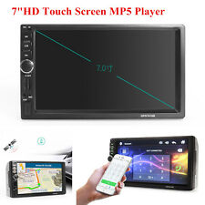 "12V 7.0"" HD Touch Screen Car MP5 Player with GPS Navigation Bluetooth AUX Audio"