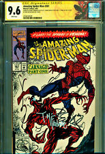 AMAZING SPIDER-MAN #361 CGC 9.6 4X SIGNED BY STAN LEE MCFARLANE EMBERLIN BAGLEY