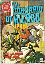 EL CORSARIO DE HIERRO nº  4 (de 58 de la colección completa) Bruguera 2ª ed 1980