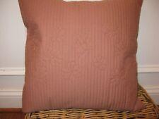 Calvin Klein Melrose Copper Petals Square deco pillow NWT
