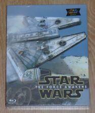 Star Wars: The Force Awakens (blu-ray) Steelbook - novamedia. NEW & SEALED.