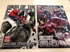 Marvel Comics The Amazing Spider-Man # 687 Variant Regular Ends Of The Earth