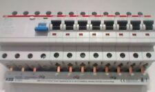 ABB FI F204 A-40/0,03 8x S201-B16 Leitungsschutzschalter PS3/12FI Phasenschiene