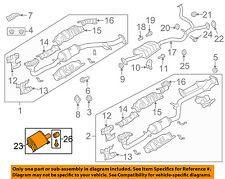 SUBARU OEM 10-14 Outback 3.6L-H6-Muffler 44300AJ22A