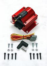 12 Volt Red Anodized E-Core External Ignition Power Coil 12v Racing