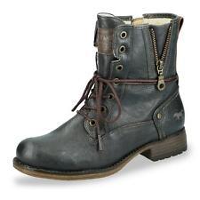 Mustang Damen Stiefelette Schnürstiefelette Winterschuhe Boots Schuhe anthrazit