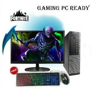 GAMING PC DELL COMPUTER WINDOWS 10 Intel Core i3 4th GEN 8GB 500GB GT 710 WIFI