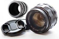 Asahi Pentax Super-Takumar 55mm f/1.8 M42 Lens w/ M42 Close up Ring From JAPAN