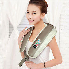 Neck Shoulder Massager Car/Home/Office Heat Knead Shiatsu Body Massage
