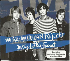 ALL AMERICAN REJECTS Dirty Little 2 LIVE & VIDEO UK CD Single USA SELLER SEALED