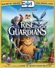 Rise of the Guardians (Blu-ray/DVD, 2013, 3-Disc Set, 3D BLU RAY )