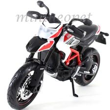 MAISTO 13015 2013 13 DUCATI HYPERMOTARD SP BIKE MOTORCYCLE 1/12 BLACK WHITE RED