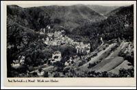 BAD BERTRICH a.d. Mosel AK 1950 Häuser Partie v. Westen