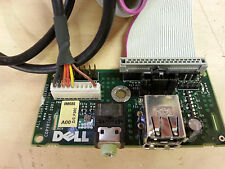 Dell Dimension 8300 Front USB Port Audio Jack Panel 0M686 - With cables