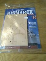 Hachette Build The Bismark new & sealed issue 30