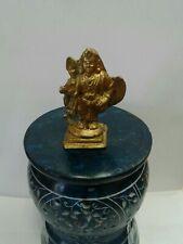 Kartike murugan brass  statue god of war 2.5 inches hindu god Idol  USA Seller