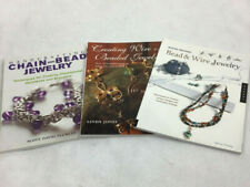 Lot Of 3 Jewelry Making Bead And Wire Chain /bead Wire/beaded Jewelry Books