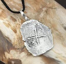 ATOCHA Coin Pendant 8 Reale 925 Silver Sunken Treasure Shipwreck Jewelry