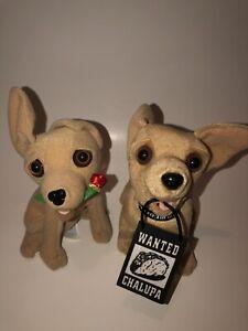 Taco Bell Plush Stuffed Animal Dog Talking Toy Chihuahua Lot Chalupa 🔥