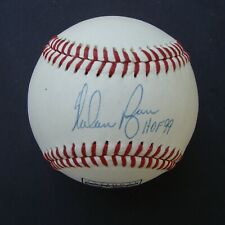 NOLAN RYAN  SIGNED NATIONAL BASEBALL HALL OF FAME BASEBALL AUTOGRAPHED  HOF JSA