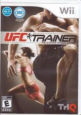 WII - UFC PERSONAL TRAINER - The Ultimate Fitness System Software Only Exercise