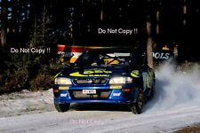 Colin McRae Subaru Impreza WRC 97 Swedish Rally 1997 Photograph