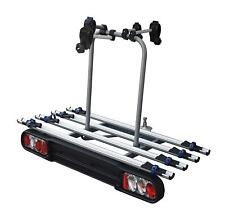 4 Bike Bicycle Car Towball Tow Bar Mounted Carrier Rack with Lights