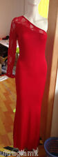 RED LYCRA & LACE PAGEANT GOWN/DRESS/CROSSDRESSER/DRAG QUEEN/ 8-12 (Maybe 14)