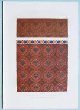 Large 1862 Exhibition Imprimé Papier Suspensions Byscott Cuthbertson & Co