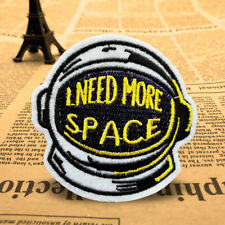 DIY Space Helmet Embroidery Sew On Iron On Patch Badge Applique Craft Transfer