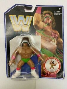 MATTEL WWE RETRO SERIES 1 ULTIMATE WARRIOR WRESTLING ACTION FIGURE MOC WWF WCW