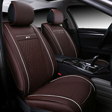 Protector Universal Car Interior Seat Cover Chair PU Leather Cushion 5-seats BOS