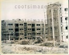 1971 Pre-Fab House Construction New Delhi India Press Photo